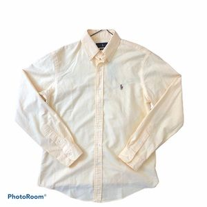 Polo Ralph Lauren Yellow Button Down Shirt